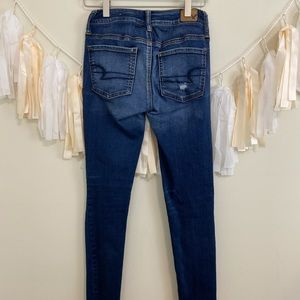 American Eagle Outfitters Jeans - AMERICAN EAGLE Ripped Distressed Jeggings